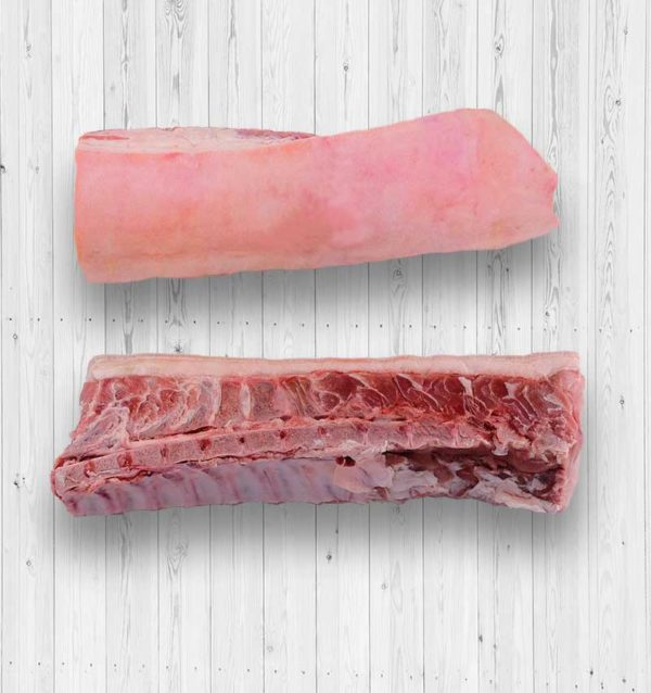 Pork Loin Bone In Skin On From All Foods Food Asia Inc